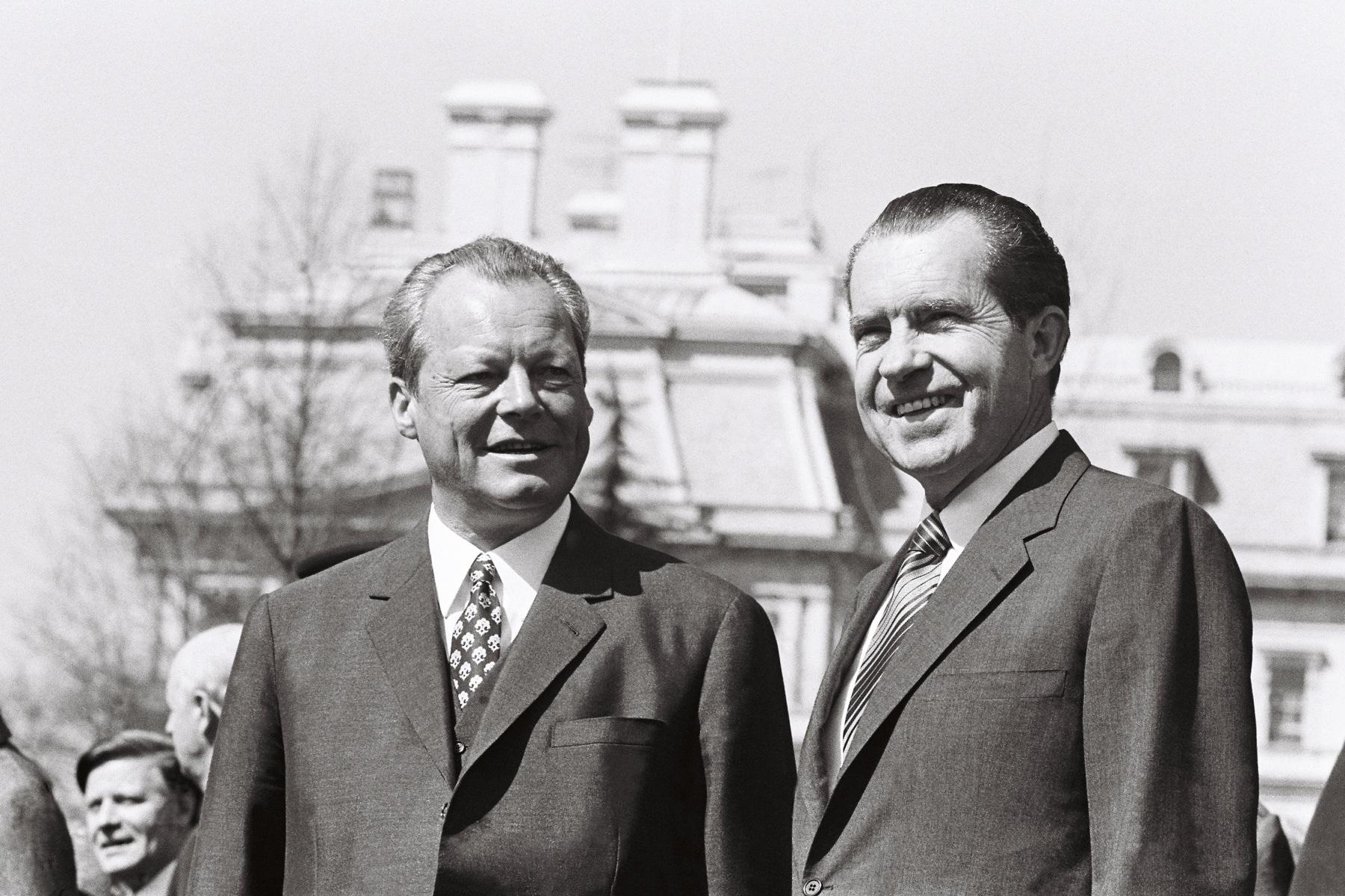 und bundeskanzler willy brandt in washington dc 10 april 1970 bundesregierungengelbert reineke - Willy Brandt Lebenslauf