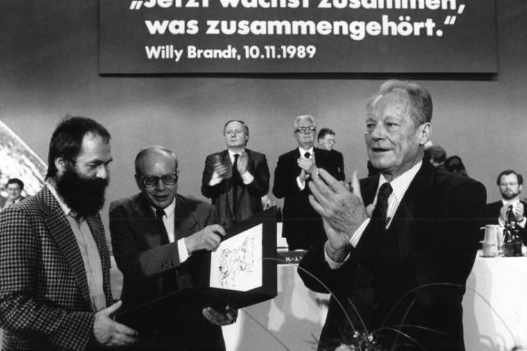 Willy Brandt Und Die Deutsche Einheit 1989 90