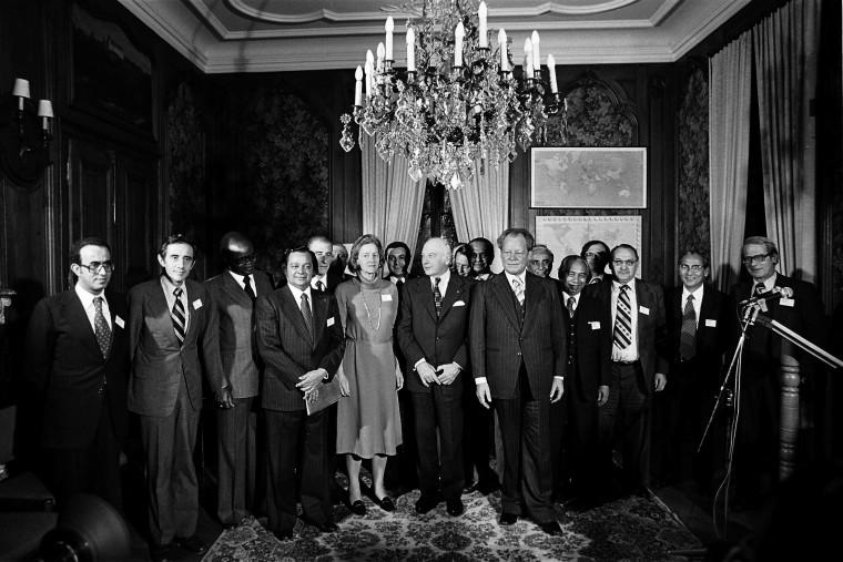 Willy Brandts Engagement Im Nord Süd Konflikt 1969 1992