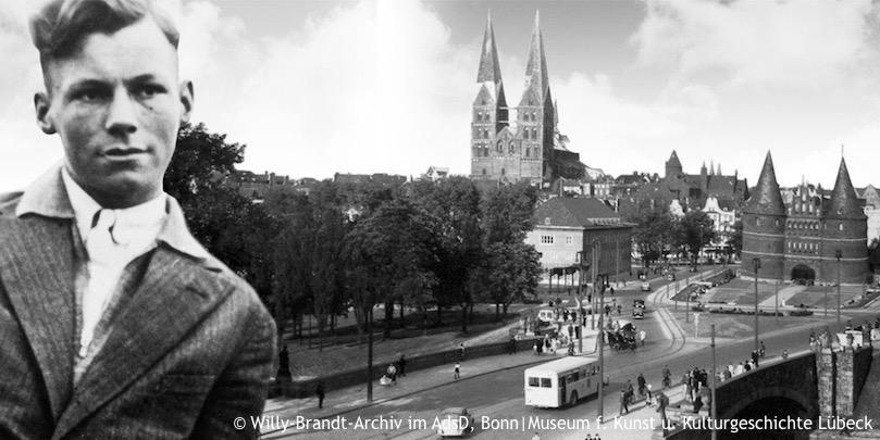 arbeiterjunge in lbeck 1913 1932 - Willy Brandt Lebenslauf